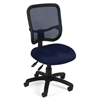 OFM Comfort Series Ergonomic Mesh Task Chair - ComfySeat™, Navy